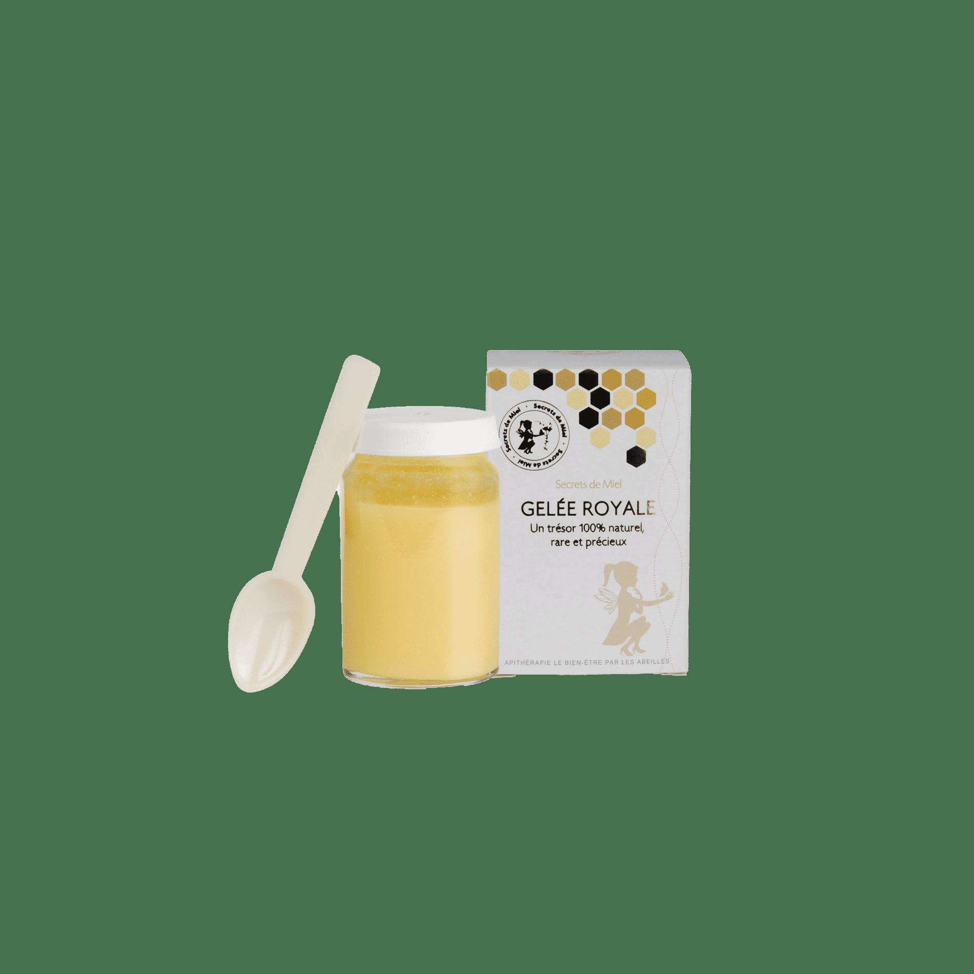 gelée royale pure - apithérapie - produits naturels - forme et vitalité