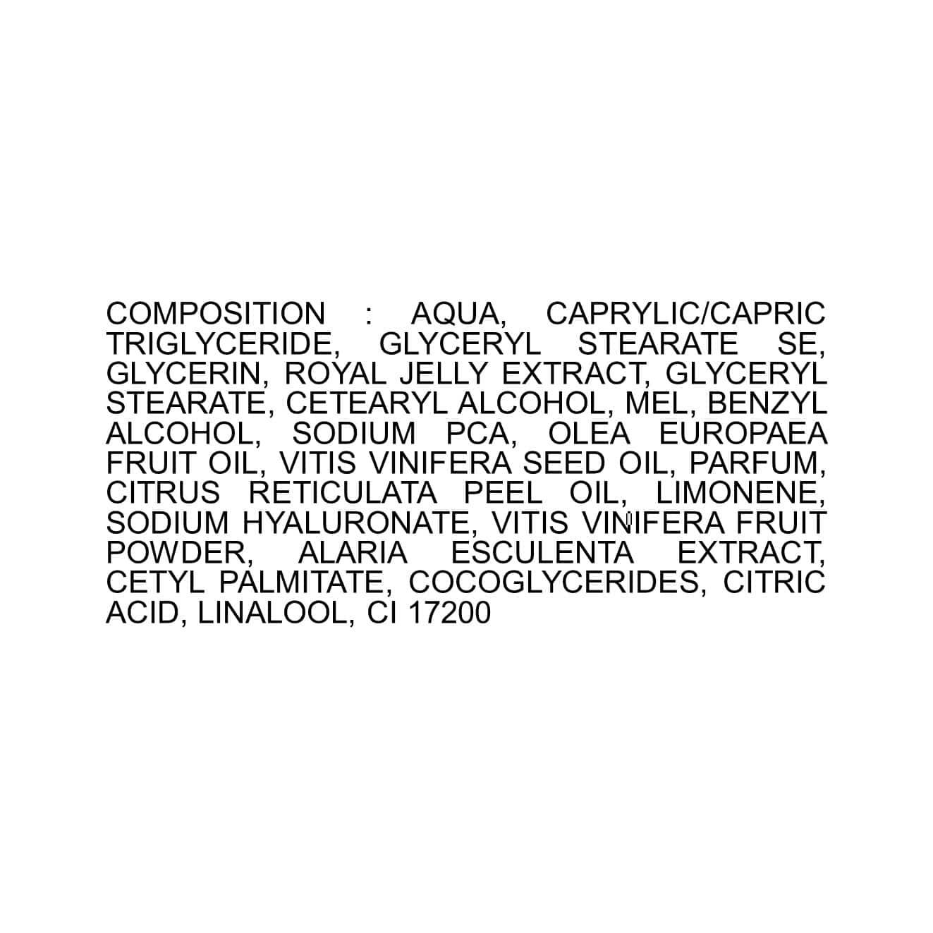 Crème Lift intense - Gelée Royale - Abeilles - Ruche - Crème de jour - Bon pour la peau - Produit naturel - Secrets de Miel - antiage