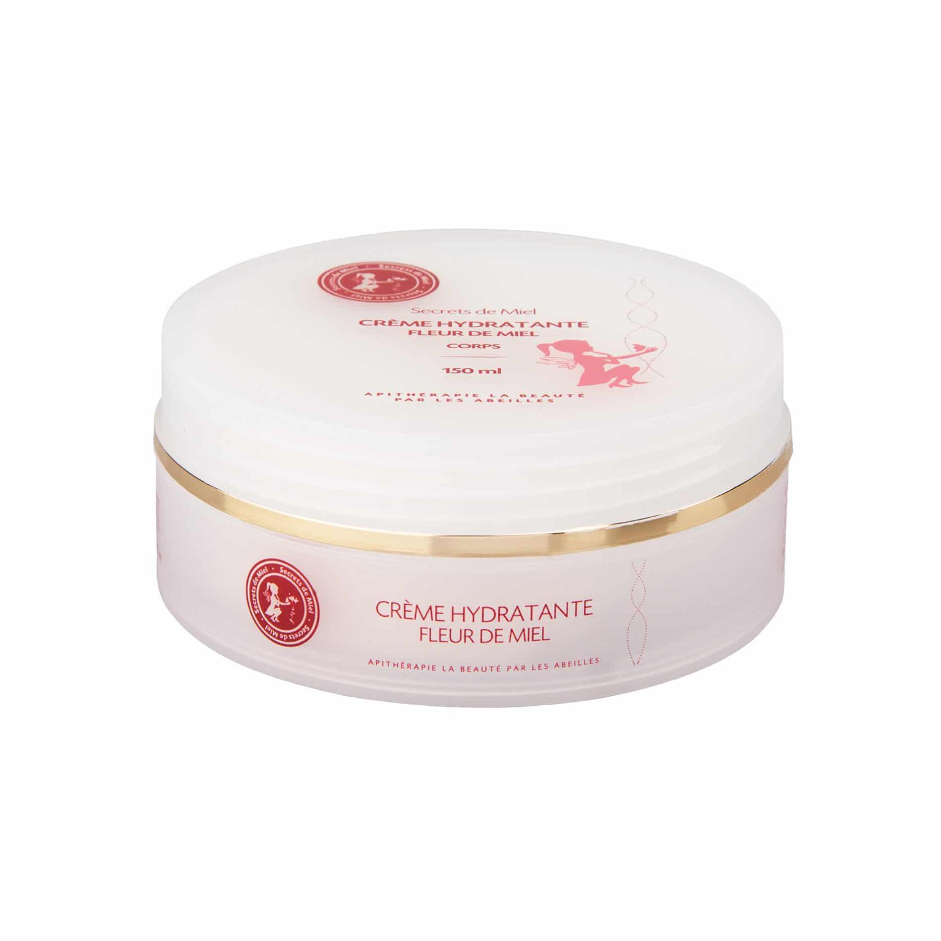 Crème corps Hydratante - Fleur de Miel - Abeilles - Ruche - Protège la peau - Hydrate la peau - Produit naturel - Secrets de Miel
