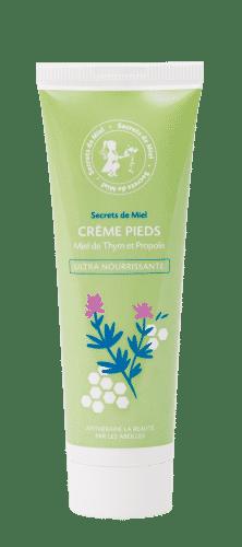 Crème Nourrissante pour les Pieds - Pieds - Répare la peau - Peaux sèches - Peaux sensibles - Nourrit la peau - Produit Naturel - Secrets de Miel