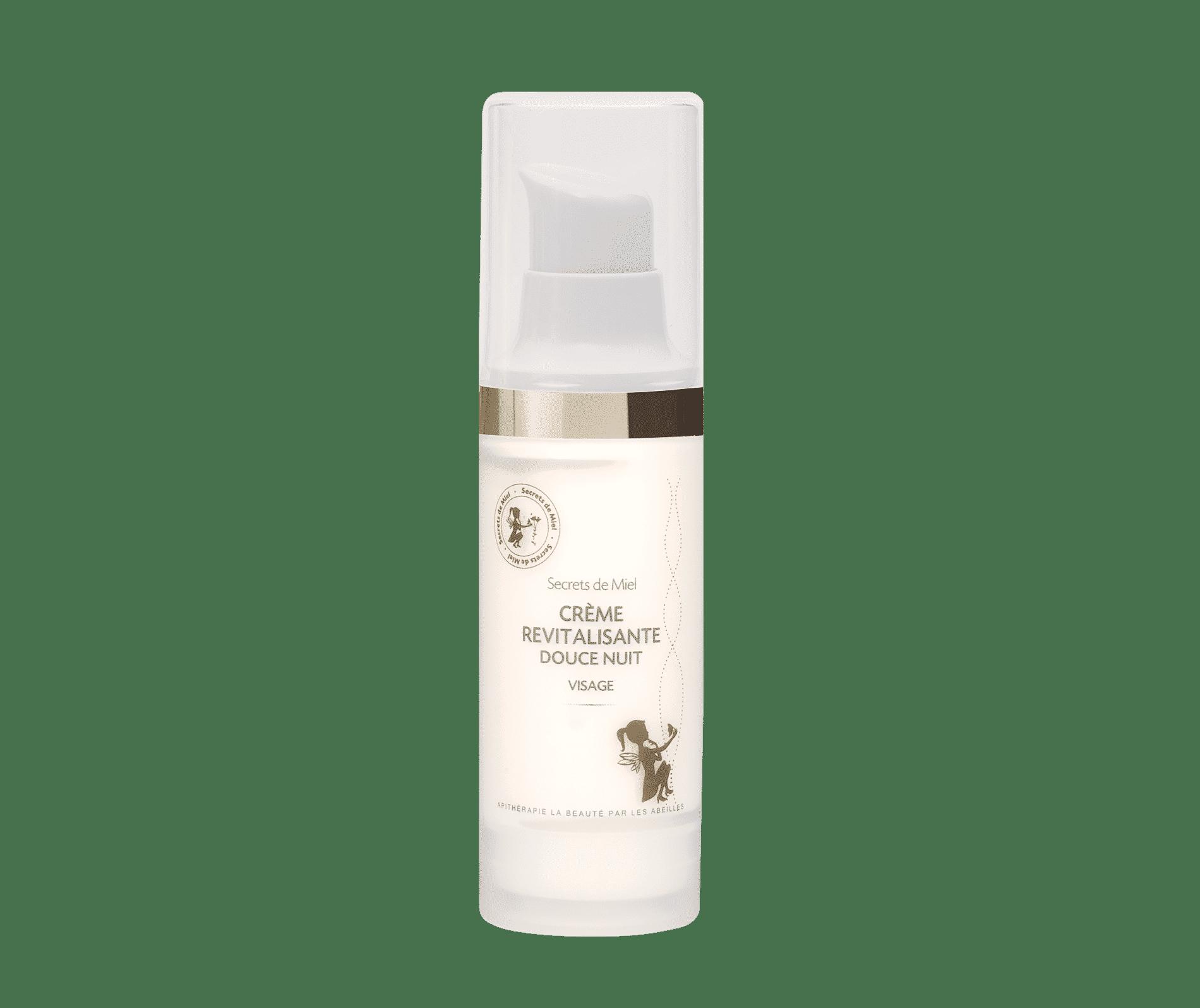 Soins de nuit - crème revitalisante - crème de nuit - soins naturels - cosmétiques - Secrets de Miel - apithérapie