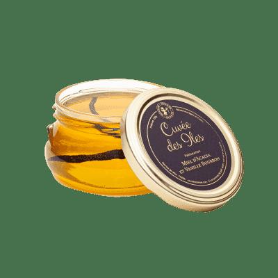 Cuvée des îles - Miel - abeilles - ruche - produit naturel - Vanille bourdbon - Miel rare - Secrets de Miel