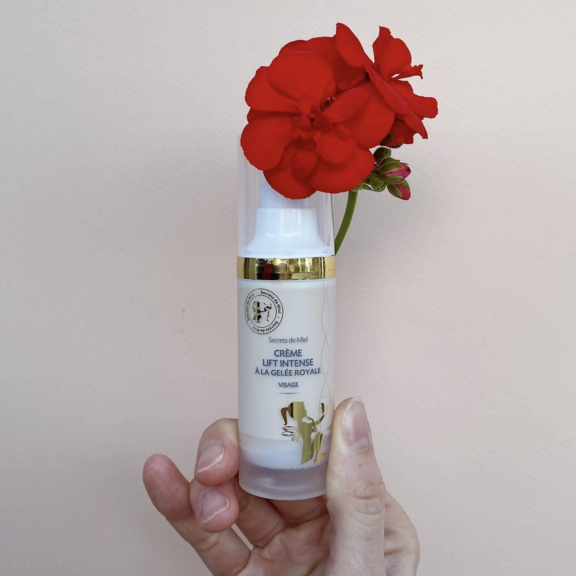 Crème Lift Intense à la Gelée Royale - Gelée Royale - Abeilles - Ruche - Crème de jour - Bon pour la peau - Produit naturel - Secrets de Miel - anti-rides - anti-âge - apithérapie
