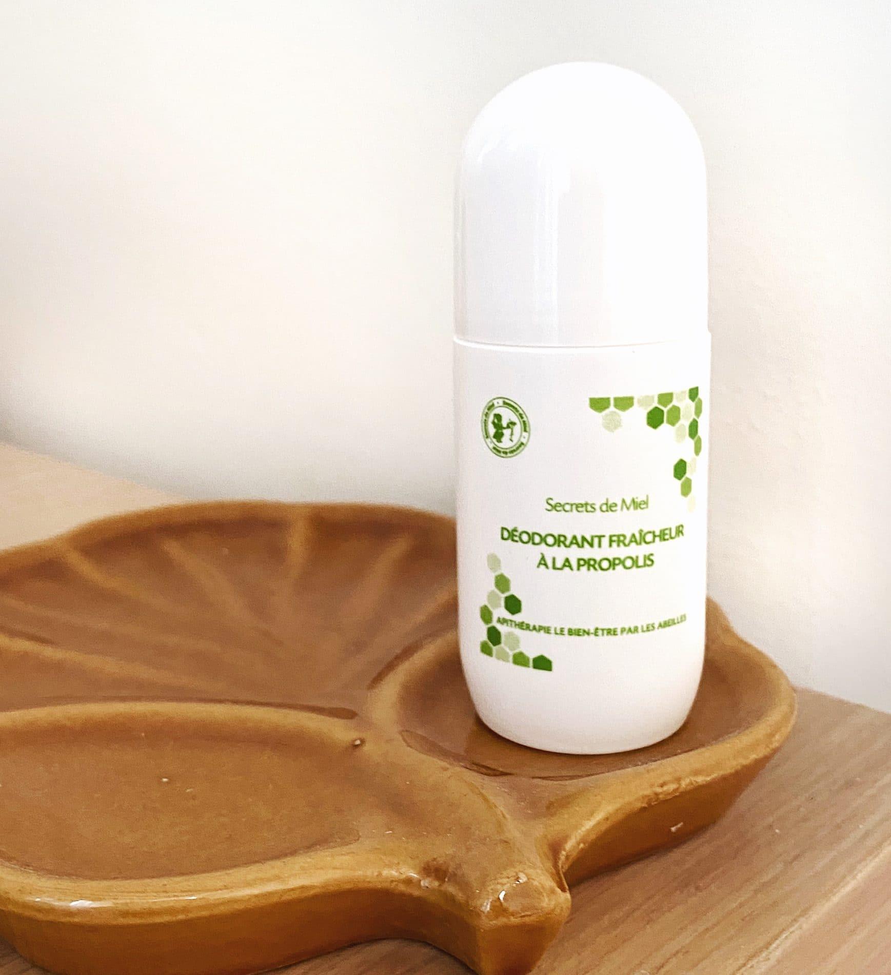 Déodorant fraicheur à la Propolis - Secrets de Miel - Produits naturels - produits de la ruche - deodorant naturel - apithérapie