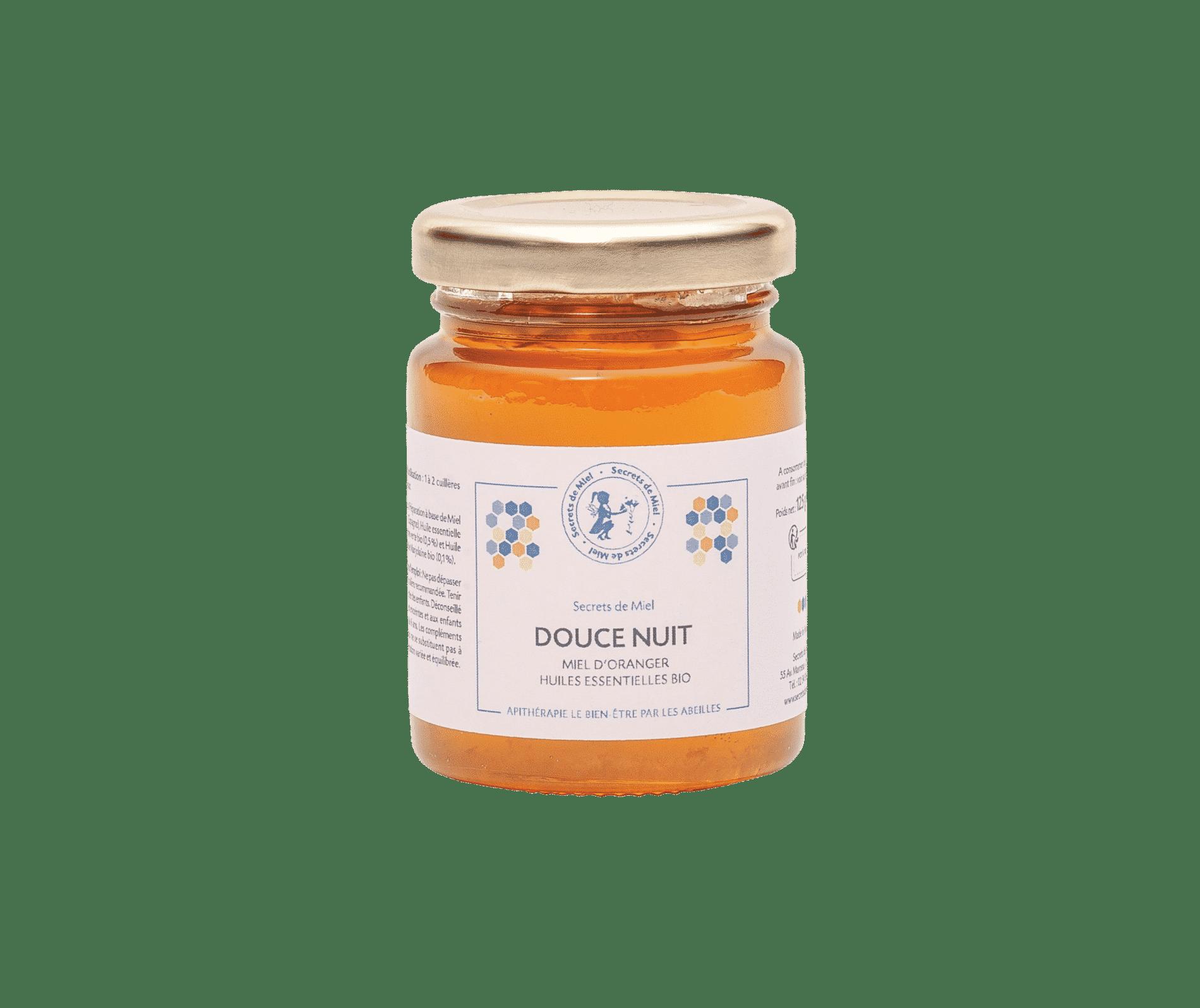 Douce Nuit - Sommeil profond - Oranger - huiles essentielles - Calme - Produit naturel - Secrets de Miel