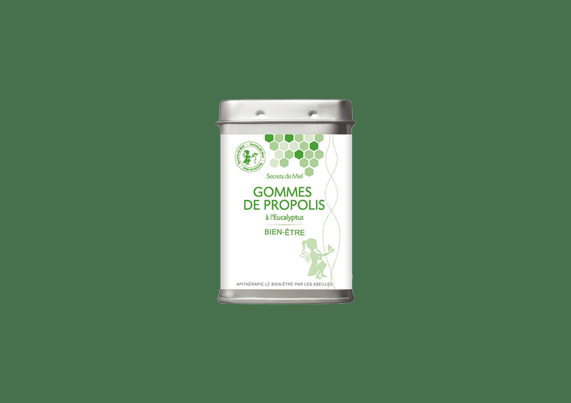 gommes à la propolis - toux - rhumes - hiver - microbes - produits naturels - bien-être - santé - Secrets de Miel