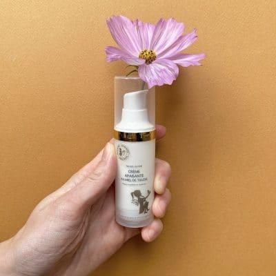 Crème apaisante au miel de Tilleul - Vendeur à domicile indépendant - vente directe en cosmétiques - cosmétiques naturelles - apithérapie - produits de la ruche - made in France - Secrets de miel