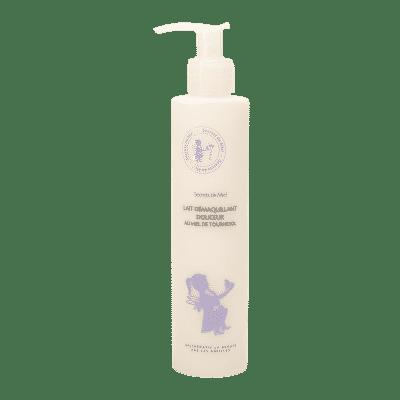 Lait démaquillant - Miel - Ruche - abeille - Plantes - Produit naturel - Démaquille - Peaux sensibles - Nettoie le visage - Secrets de Miel