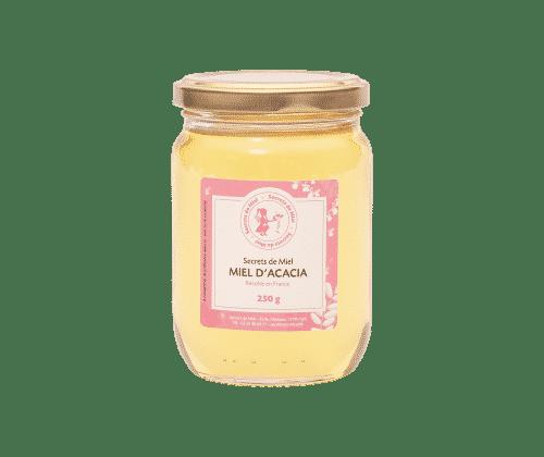 miel liquide - miel d'acacia - miel français - Secrets de Miel