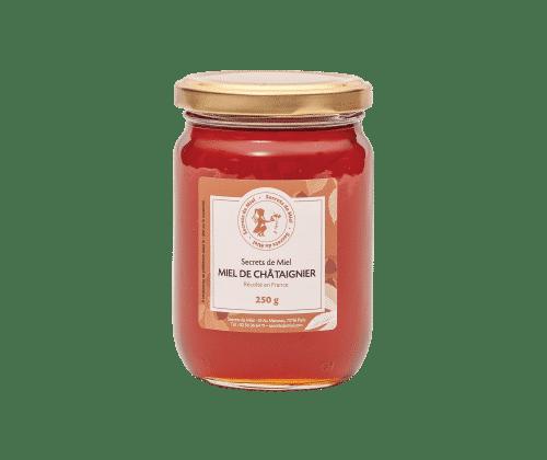 miel de Chataignier - miel français - miel liquide - Secrets de Miel