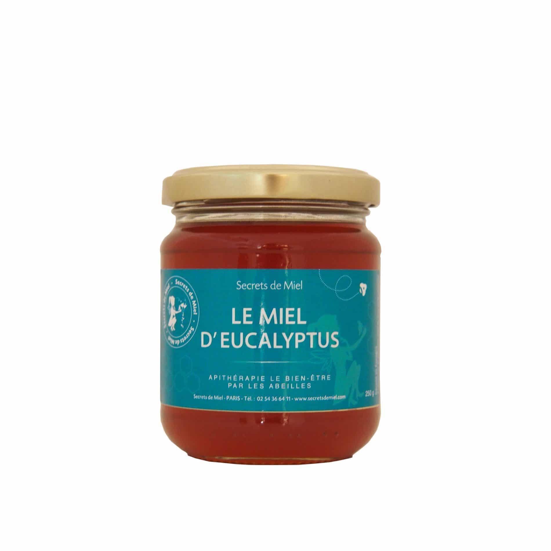 Miel d'Eucalyptus - Abeilles - Ruche - Produit naturel - Goût prononcé - Secrets de Miel