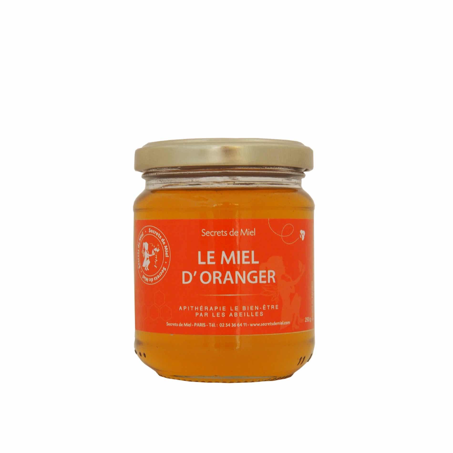 Miel d'Oranger - Miel liquide - Abeilles - Ruche - Produit naturel - Secrets de Miel