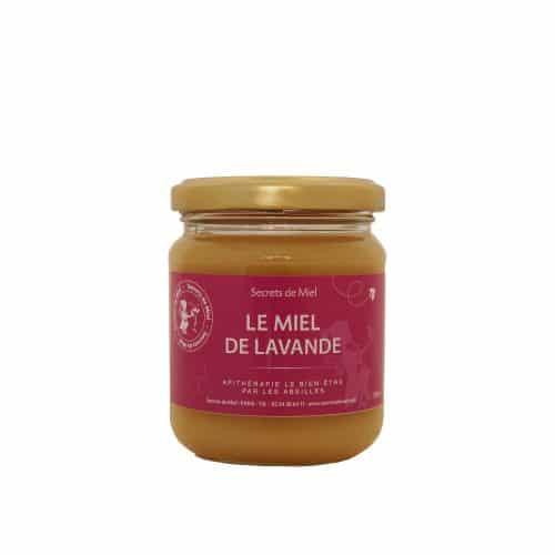 Miel de Lavande - Miel français - abeilles - ruche - Produit naturel - Secrets de Miel