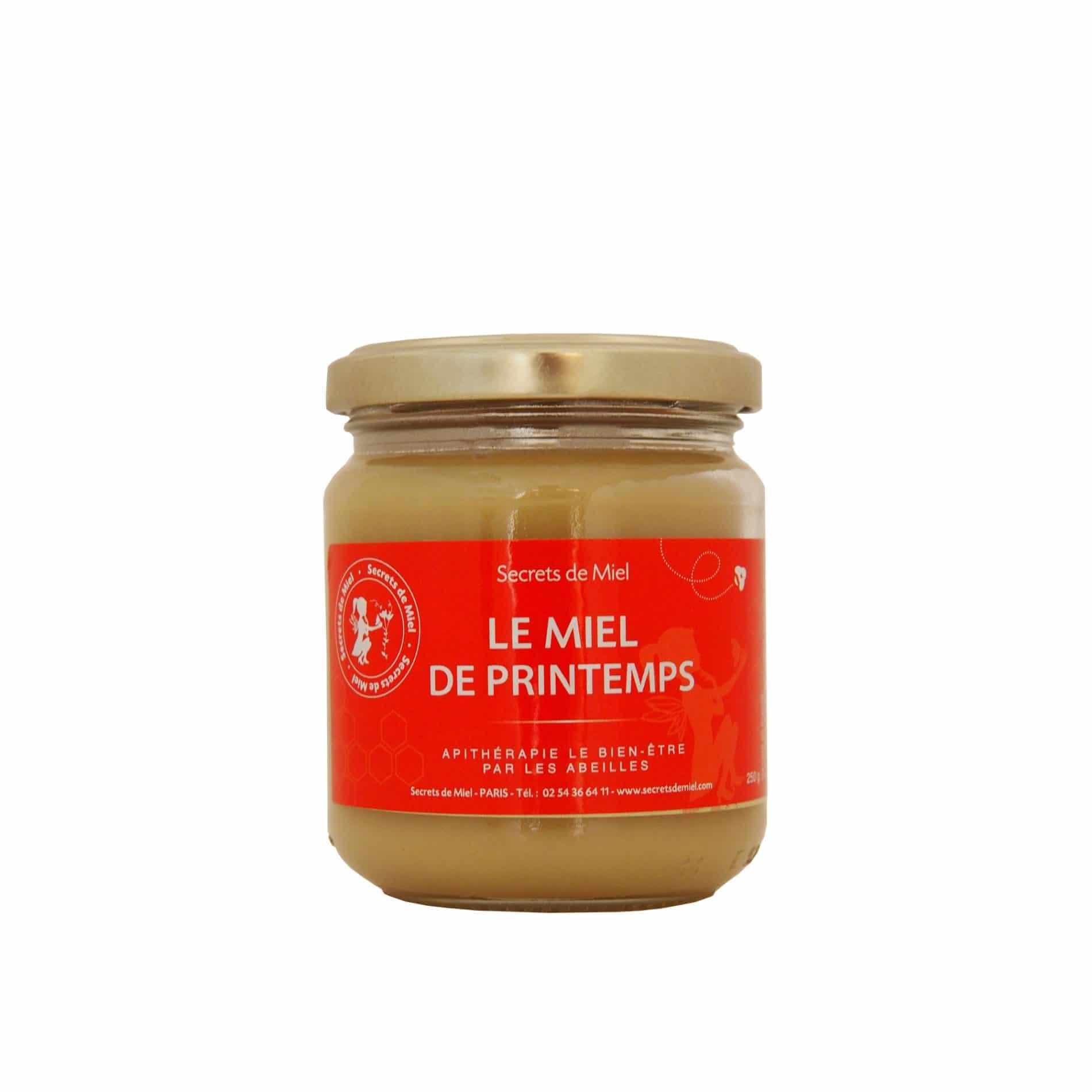 Miel de Printemps - Ruches françaises - Produit naturel - Abeilles - Ruche - Secrets de Miel
