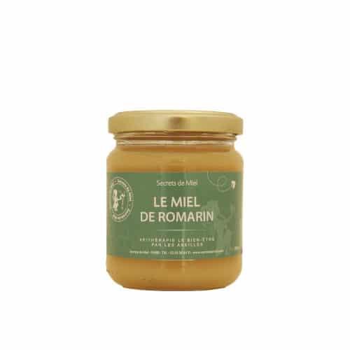 Miel de Romarin - produit naturel - abeilles - ruche - Secrets de Miel