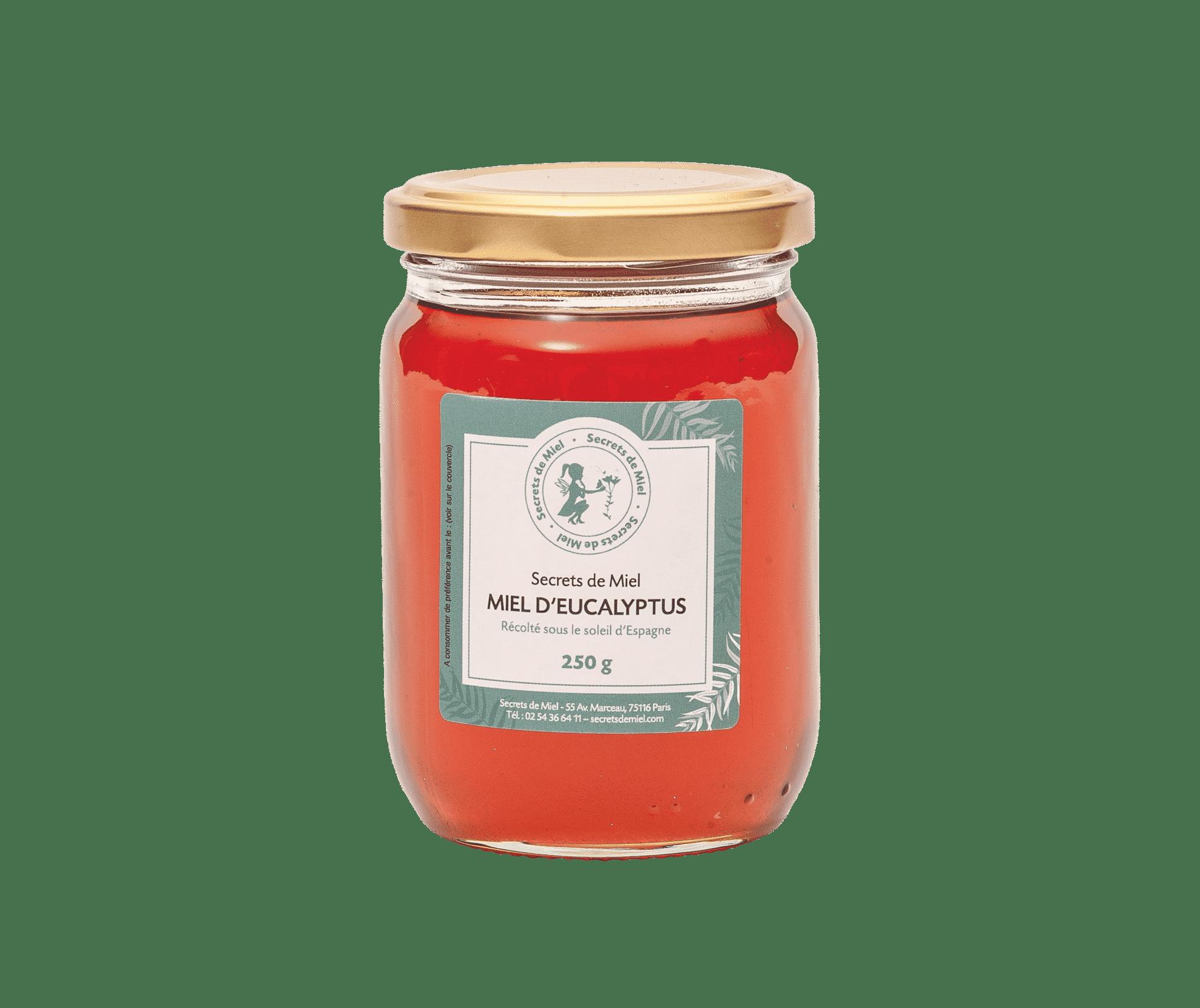 miel frais - mentholé - Eucalyptus - Secrets de Miel