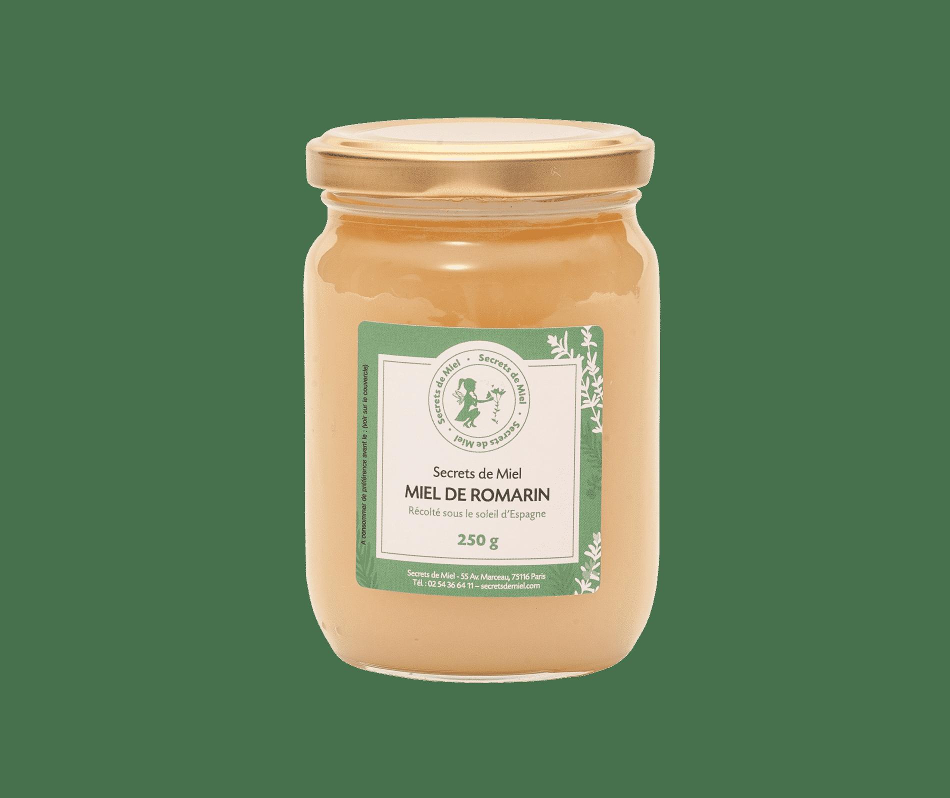 miel de romarin - Secrets de Miel - onctueux - miel crémeux