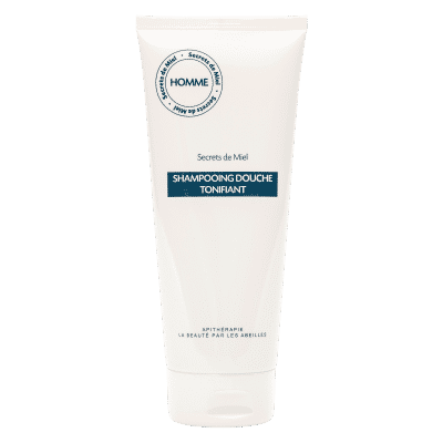 produits naturels - cosmétiques hommes - shampooing douche