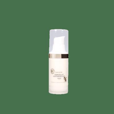Soin Eclat Contour des Yeux - Gelée Royale - Aloé Véra - Crème - Yeux - Contre les ridules - Produit naturel - Secrets de Miel