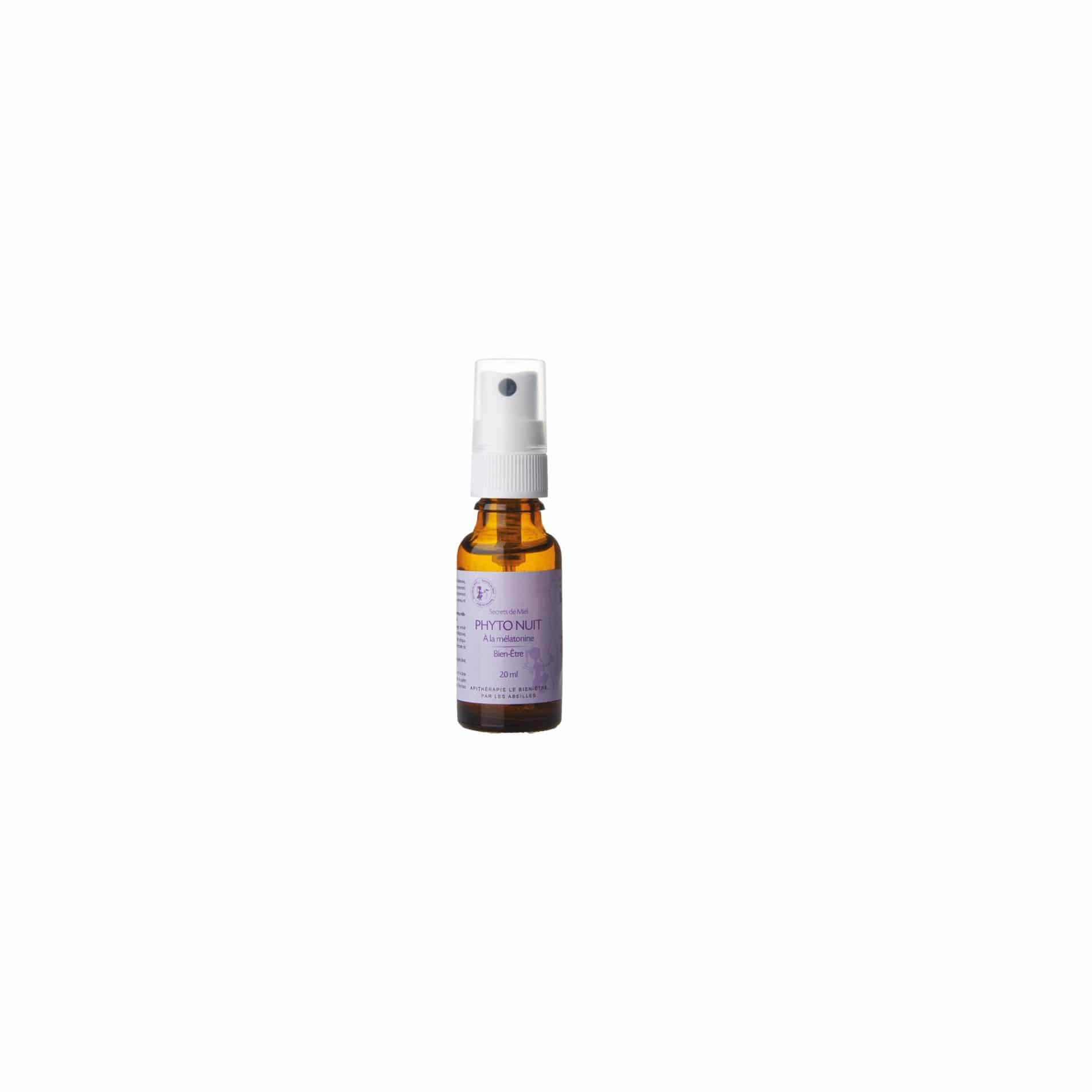 Spray Phyto Nuit - Vitamines - Réduire la fatigue - Produit naturel - Secrets de Miel