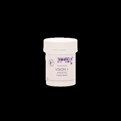 protège l'oeil - confort occulaire - vision - complément alimentaire pour la vision - Secrets de Miel - myrtille - Gelée Royale - lutéine