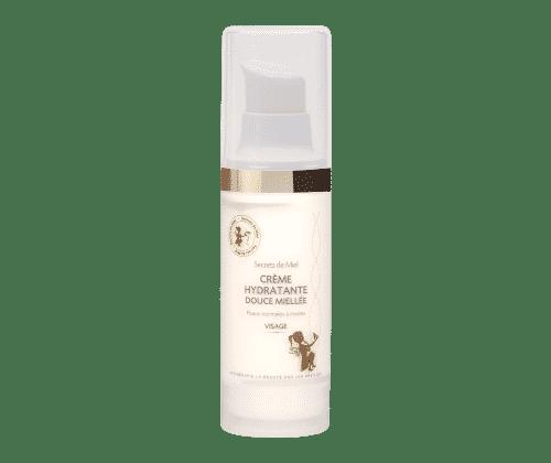 Crème Hydratante Douce Mielée - Hydratant - Peau sensible - Produit naturel - Secrets de Miel