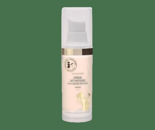 Crème Lift intense - Gelée Royale - Ruche - Abeilles - Vitamines - REnforce la fermeté de la peau - Contre les rides - Hydrate la peau - Produit naturel - Secrets de Miel