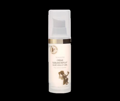 Crème Sublime Repulp - Aloé Vera - Miel - Hydrate - Nourrit la peau - Produit naturel - Secrets de Miel
