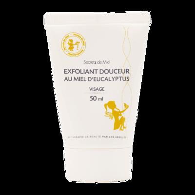 Exfoliant douceur au miel d'eucalyptus - bon pour la peau - naturel - secrets de miel