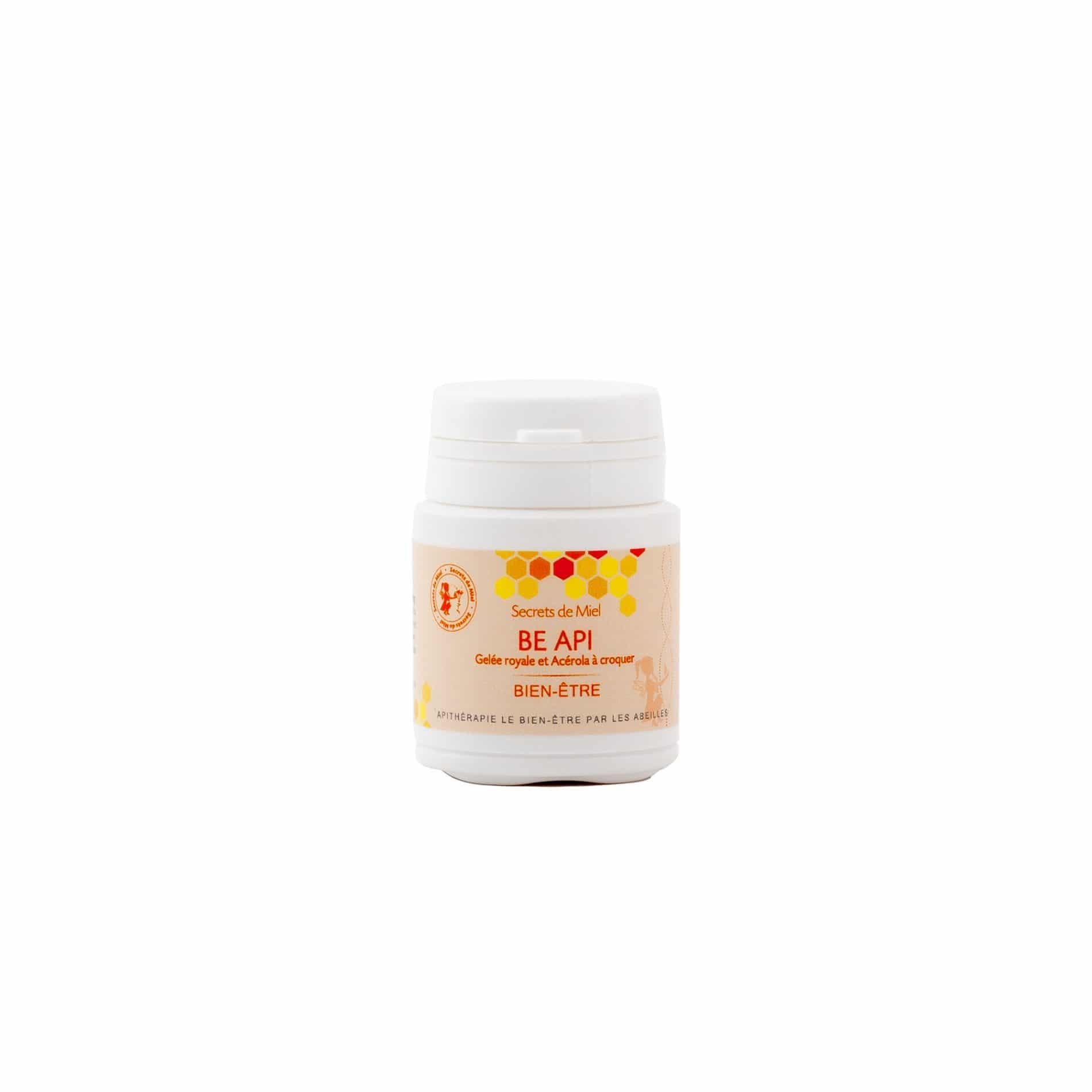 Be Api - gelules - vitamines - coup de boost - être en forme - gelée royale - ruche - booster - vitamines C - produit naturel - Secrets de Miel