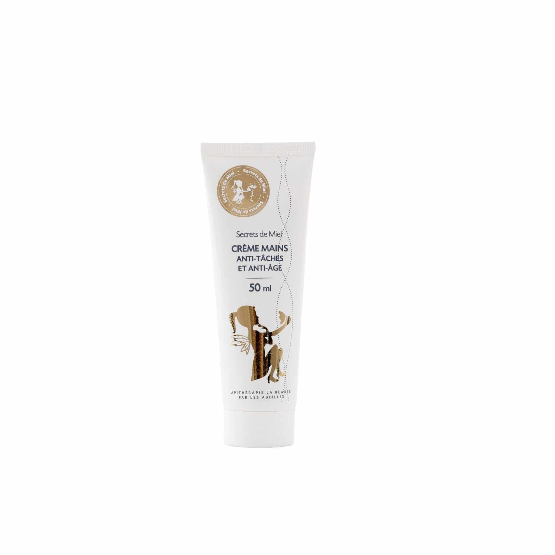 Crème anti-tâches et anti-âge - Crème - Mains - Miel de Manuka - contre les tâches - belle peau - peau plus jeune - Produit naturel - Secrets de Miel