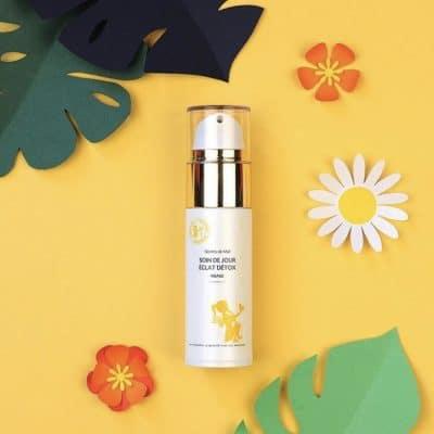 Crème eclat detox - Vendeur à domicile indépendant - vente directe en cosmétiques - cosmétiques naturelles - apithérapie - produits de la ruche - made in France - Secrets de miel