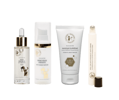 anti-âge - produits cosmétiques - naturels - made in France - Secrets de Miel