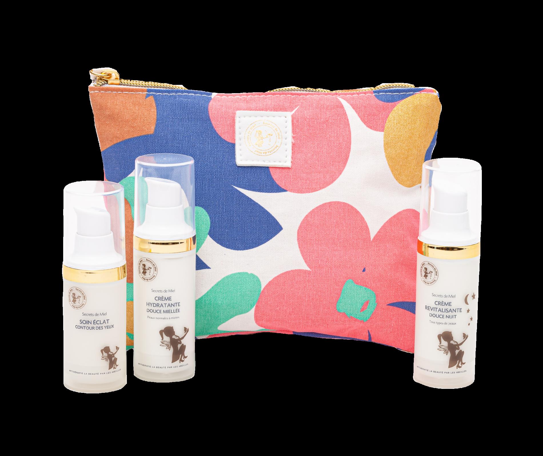 programme visage - offre routine beauté - crèmes - soins visage - miel - produits naturels - cosmétiques naturels - Secrets de Miel