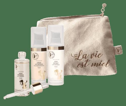 programme visage lift intense - peaux matures - cosmétiques naturels - Secrets de Miel