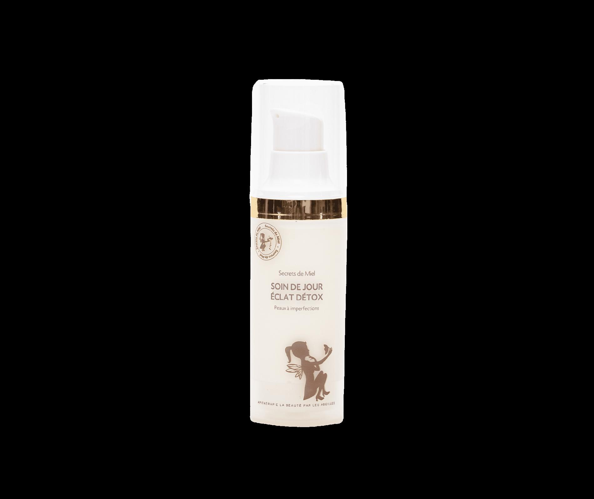 crème visage - peaux mixtes à grasses - peaux à imperfection - hydrate et purifie - lisse les imperfections - soin de jour - routine beauté - hydrater sa peau - visage - Secrets de Miel