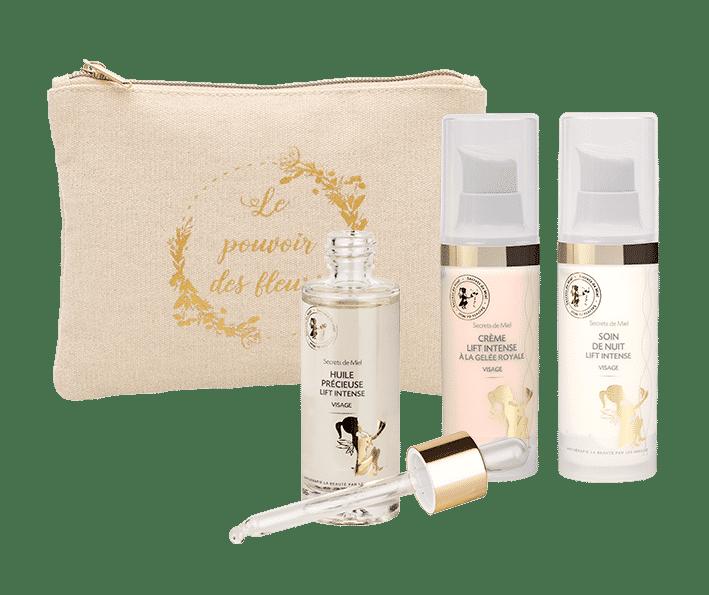 crèmes anti-âge - naturel - programme lift - programme fermeté visage