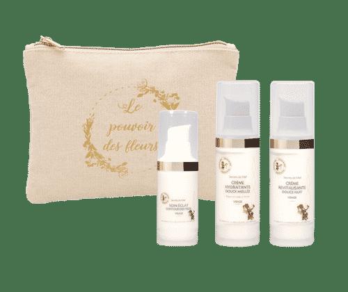 routine beauté visage - crèmes - produits naturels - Secrets de Miel