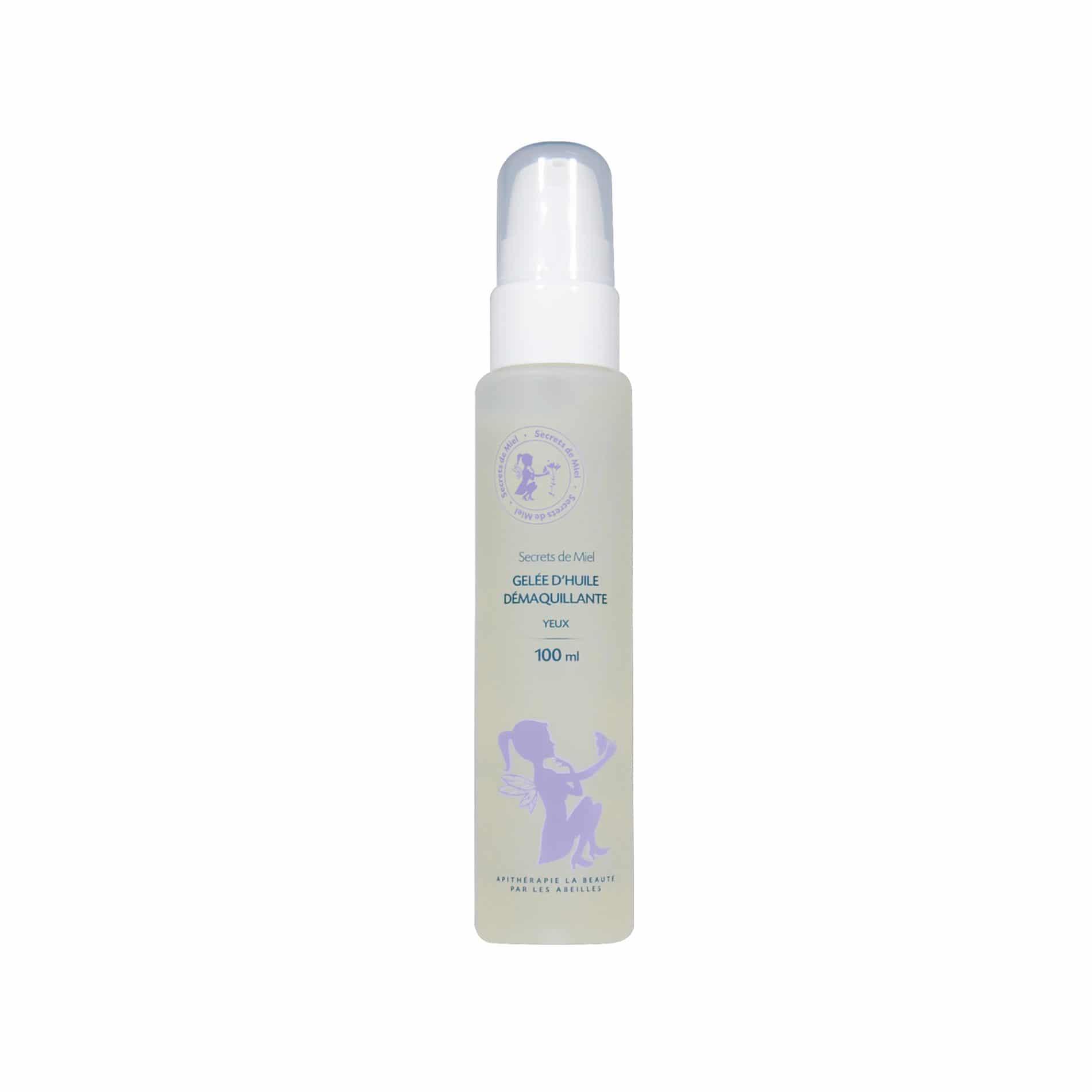 Gelée d'Huile démaquillante - démquille - visage - bon pour la peau - douceur - protège - produit naturel - Secrets de Miel