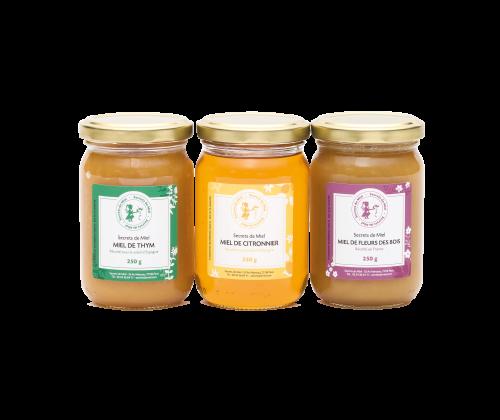 cadeau - miels - Secrets de Miel - savoir-faire - artisanal