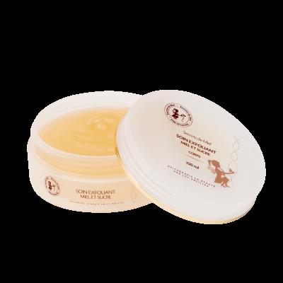 soin exfoliant miel et sucre - Secrets de Miel - exfoliant corps - gommage corps - produits naturels - Made in France