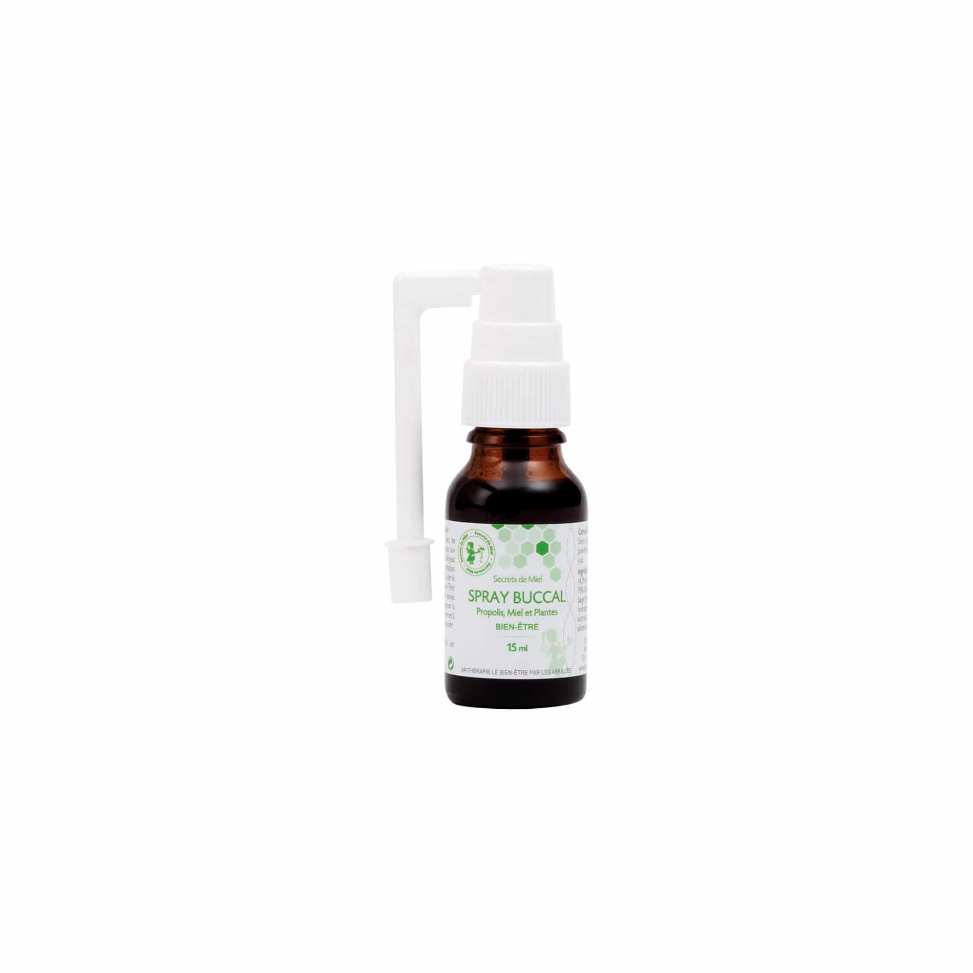 Spray bucal à la propolis - propolis - ruche - abeilles - produit naturel - bon pour le corps - meilleure voix - bon pour les voies respiratoires - Secrets de Miel