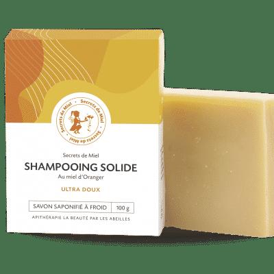Shampooing solide - bon pour les cheveux - produit naturel - secrets de miel