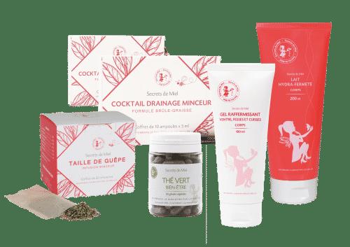 prorgamme minceur - produits naturels - infusion - bien-être - beauté - Secrets de Miel - Made in France