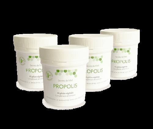 Secrets de Miel - produits naturels - Propolis - renforcement des défenses naturelles - produits de la ruche - Made in France