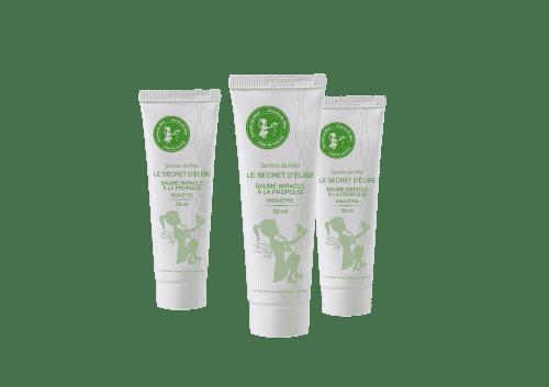 Secret d'Elise - baume multiusage - propolis - produits naturels - made in France