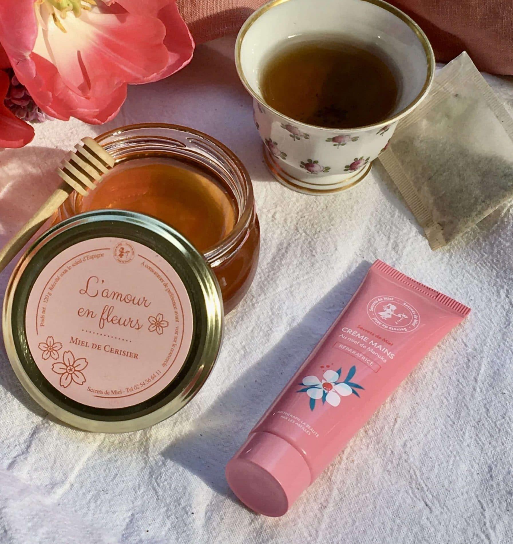 Secrets de miel - crème mains - mains sèches - produits de la ruche