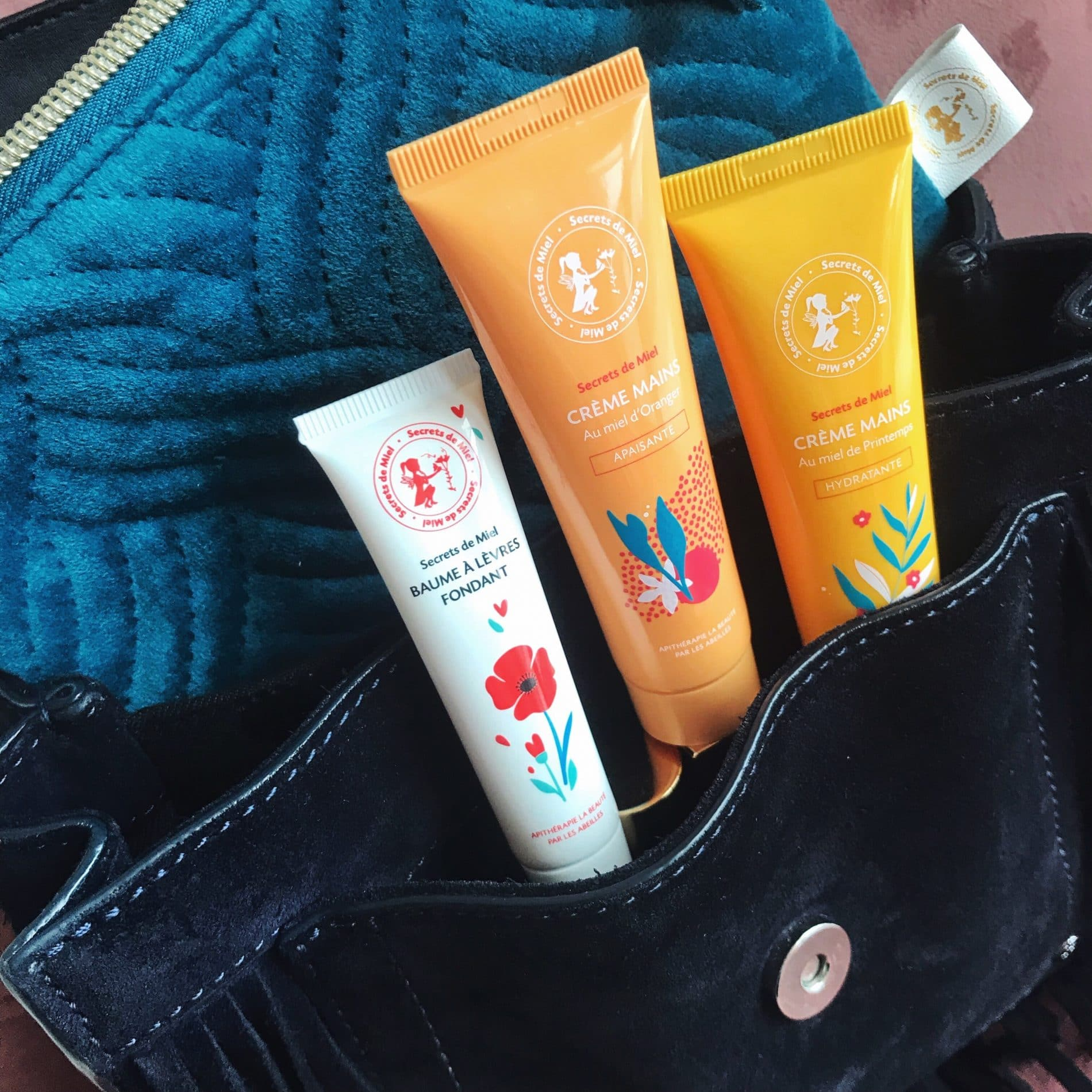 crème mains - Secrets de miel - produits naturels - apithérapie