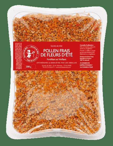 pollen frais - super aliment - prébiotique - apithérapie - équlibre intestinal