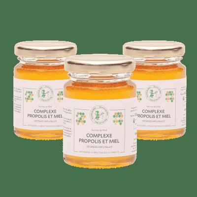 Complexe Propolis et Miel - défenses naturelles - renforcer son système - Secrets de Miel - produits naturels - enfants